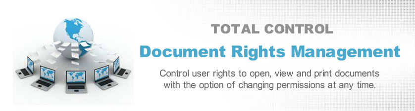 Digital Rights Management (DRM) for eBooks and PDF documents